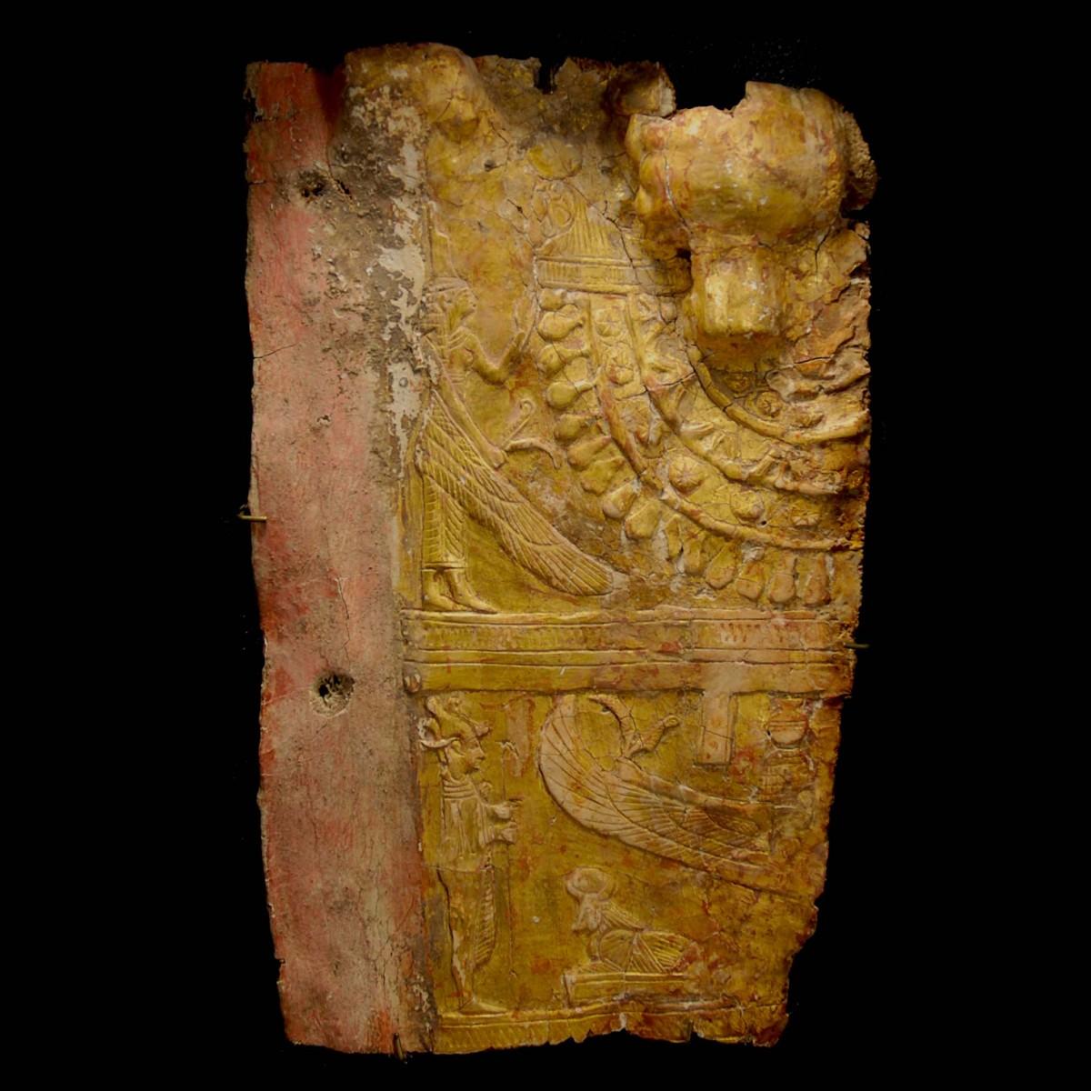 Egyptian gilded mummy cartonnage