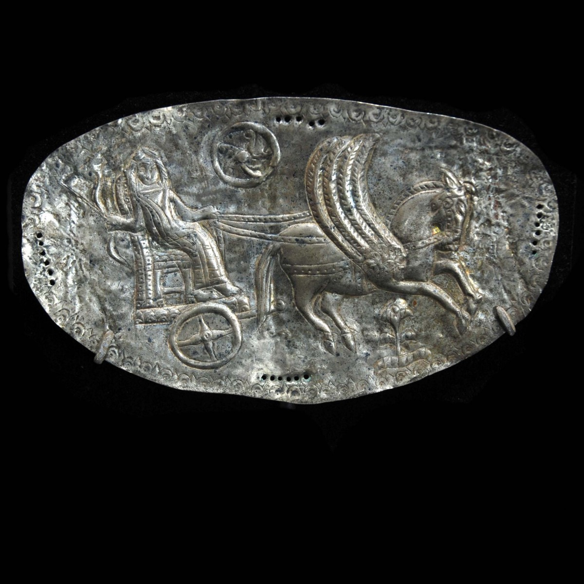 Thracian Silver Pectoral